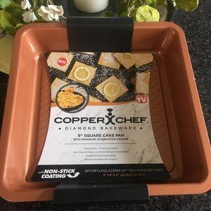 """Copper Chef 9"""" Square Bake pan"""